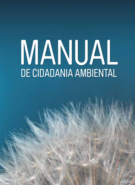 Capa da Manual de cidadania ambiental