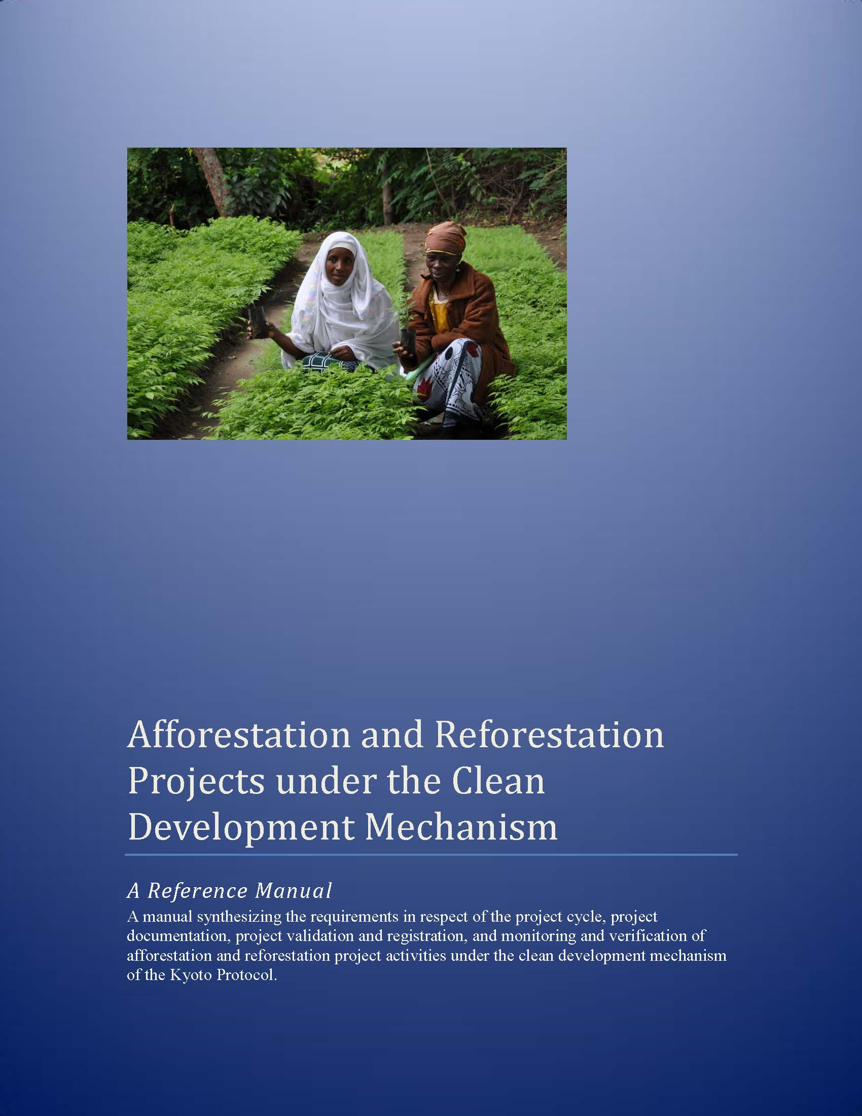Capa da Afforestation and Reforestation Projects under the Clean Development Mechanism