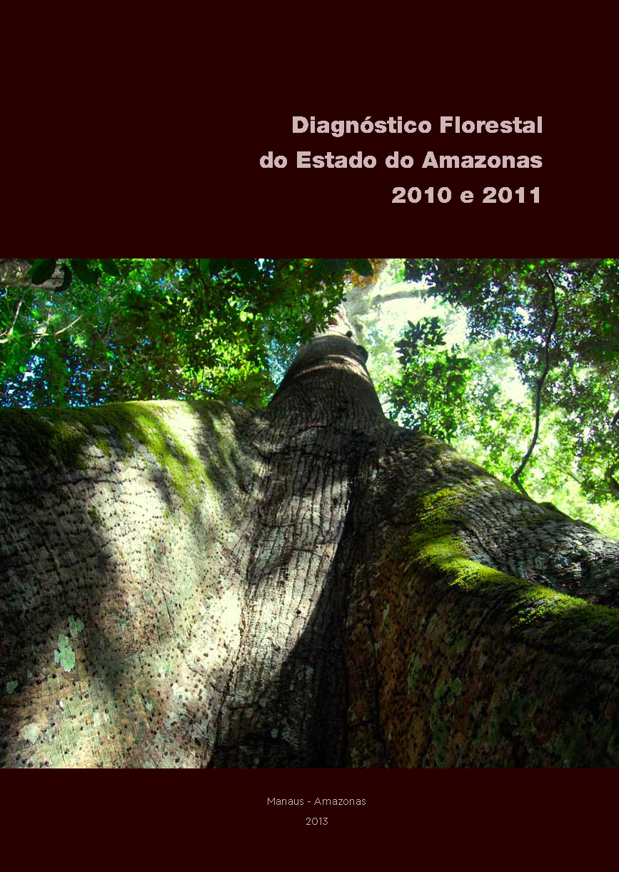Capa da Diagnóstico florestal do Estado do Amazonas 2010 e 2011