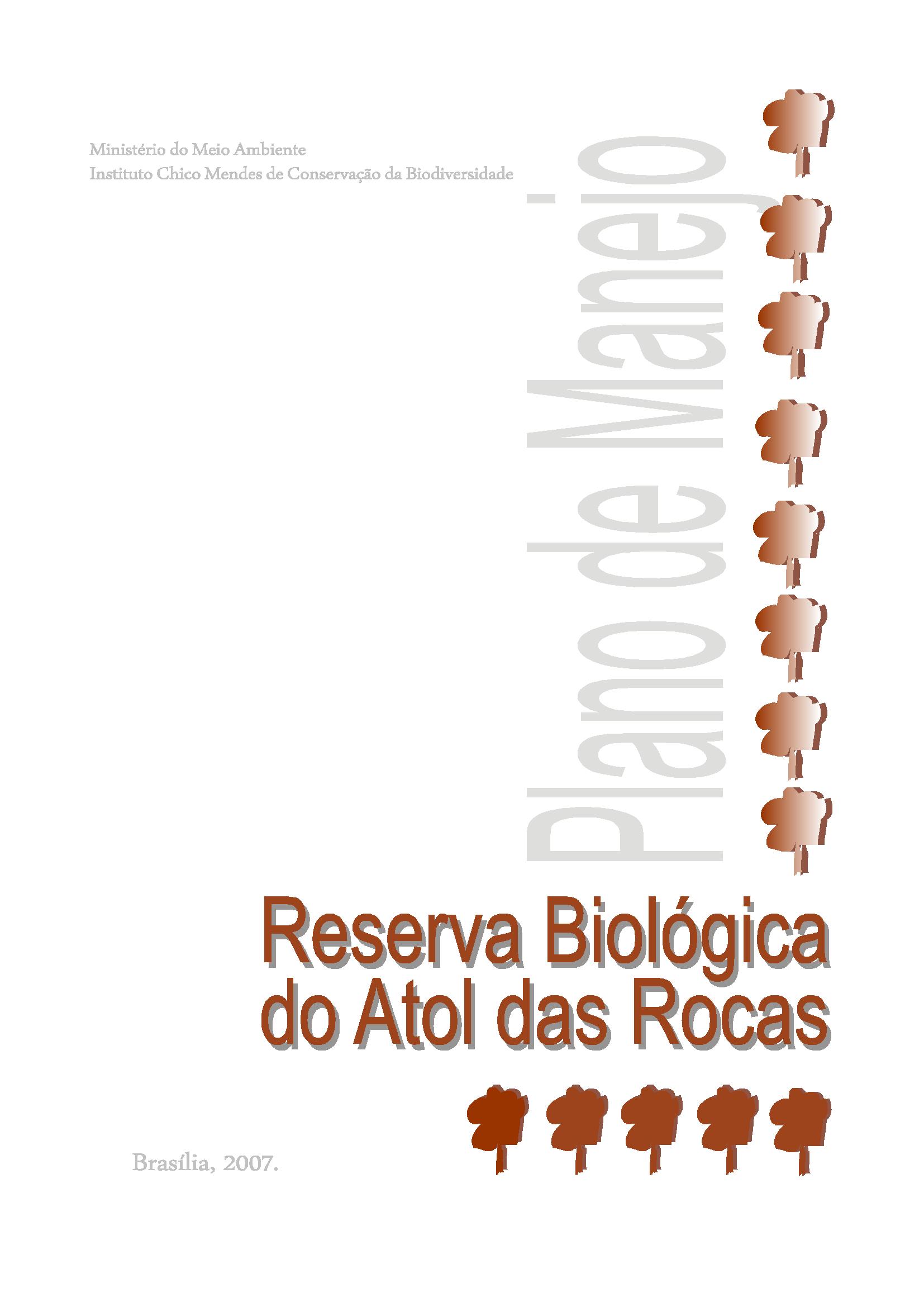 cc9652f12598f Planos de Manejo - Plano de Manejo da Reserva Biológica do Atol das ...