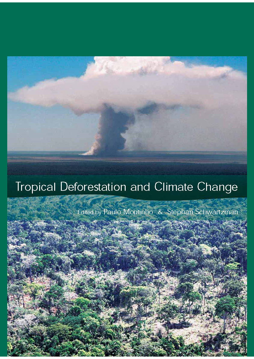 Capa da Tropical deforestation and climate change