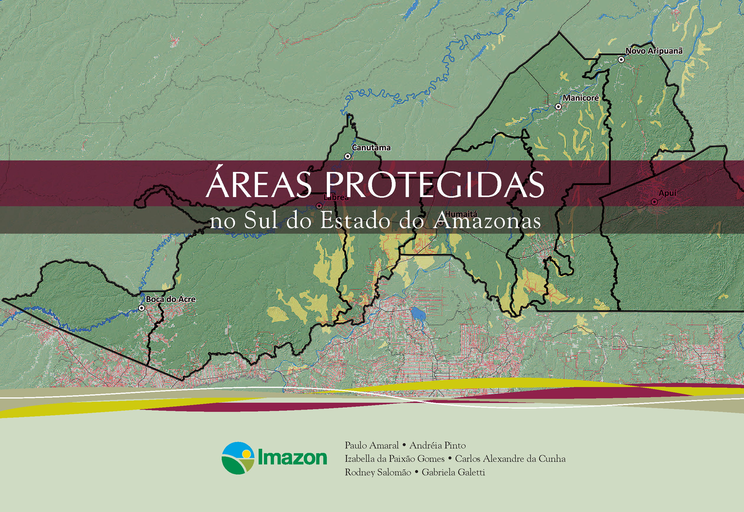 Capa da Áreas protegidas no sul do Estado do Amazonas