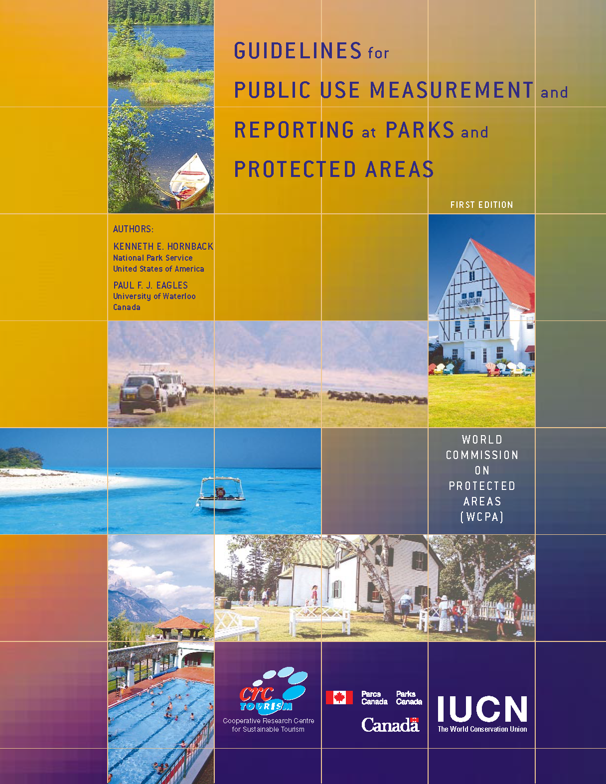 Capa da Guidelines for public use measurement and reporting at parks and protected areas