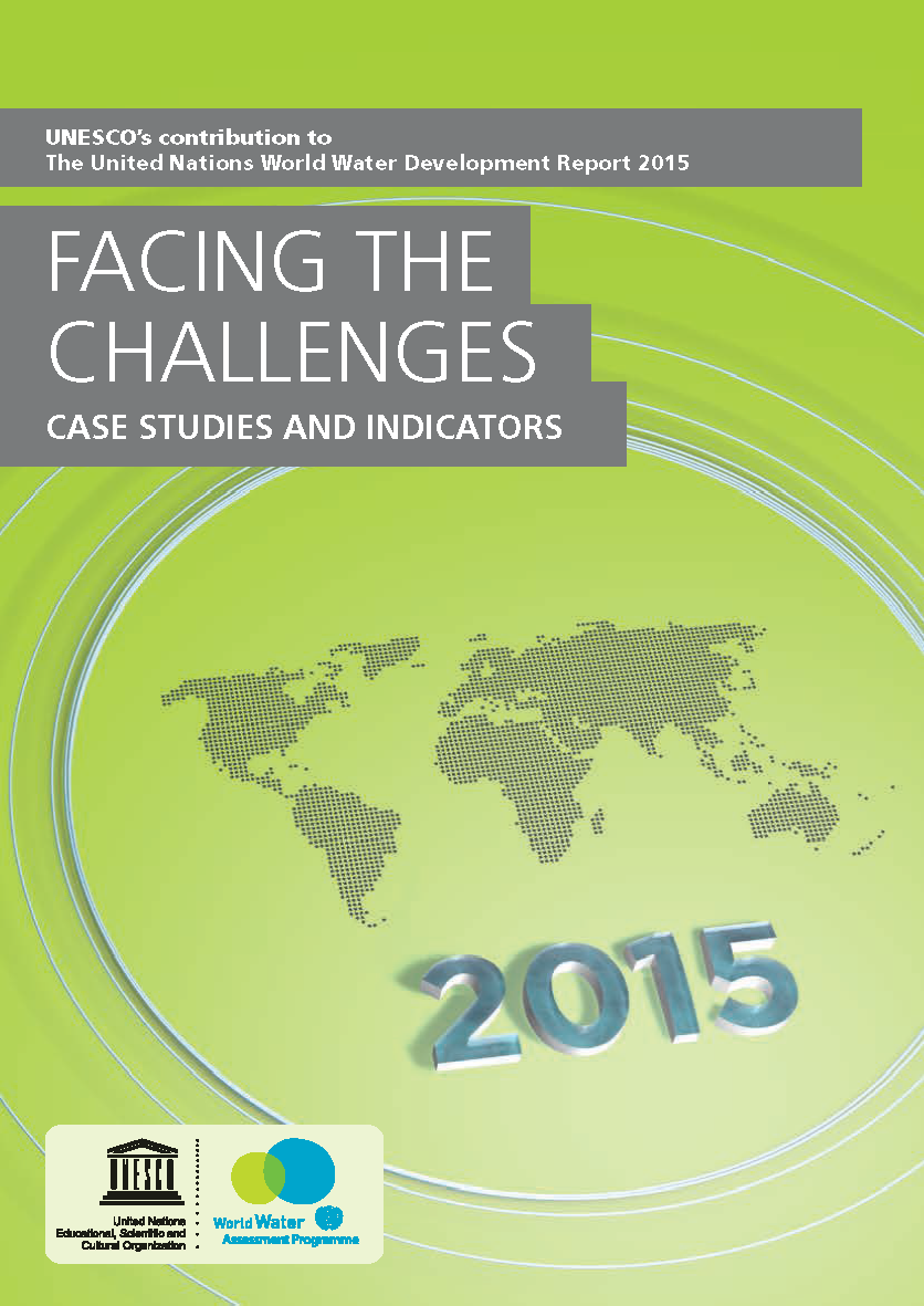 Capa da 2015. Facing the Challenges. Case Studies and Indicators