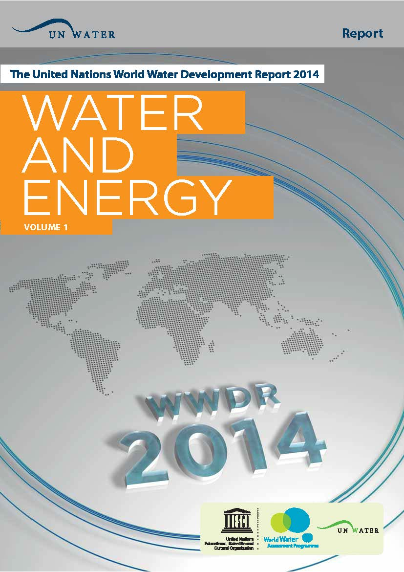 Capa da The United Nations World Water Development Report 2014