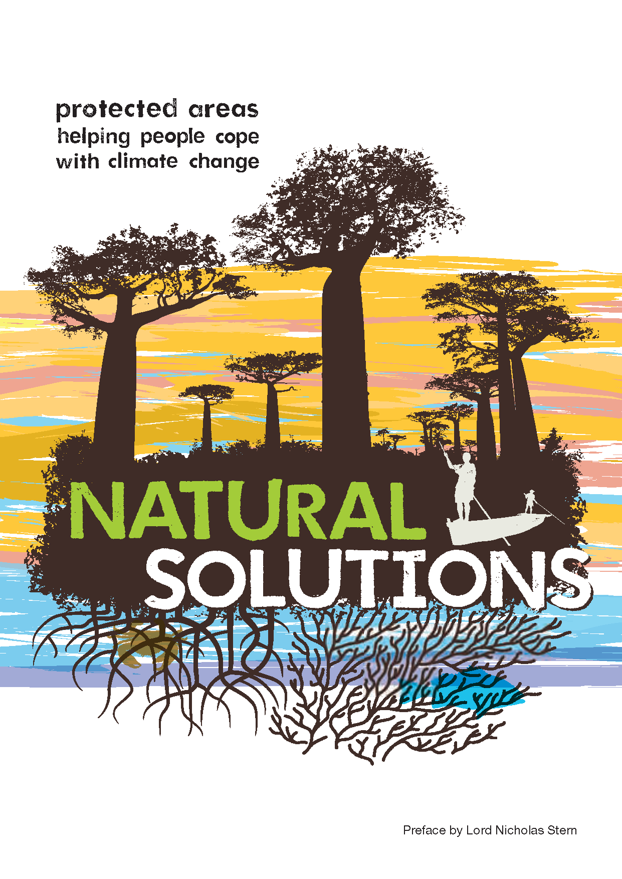 Capa da Natural Solutions - Protected areas helping people cope with climate change