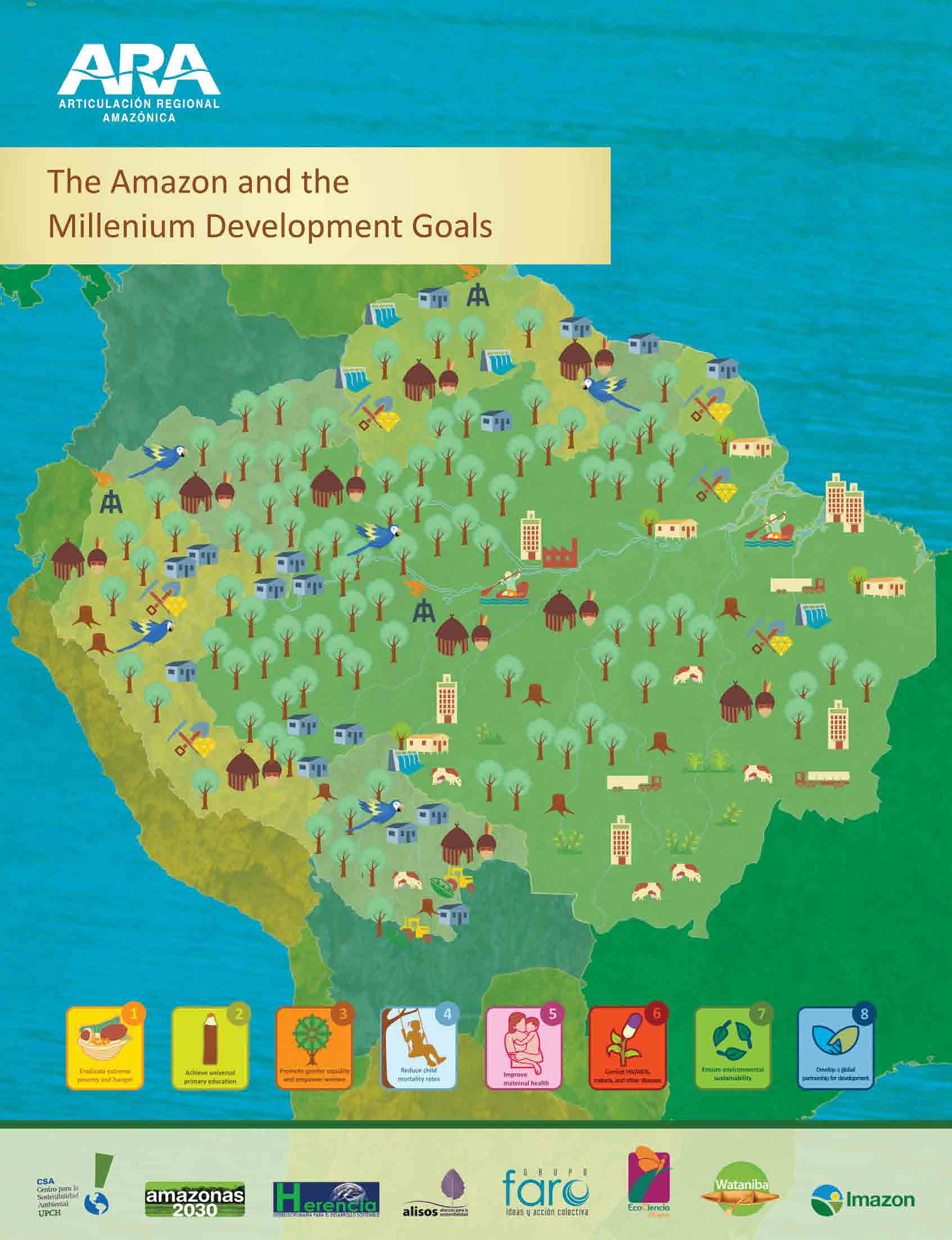 Capa da The Amazon and the Millennium Development Goals