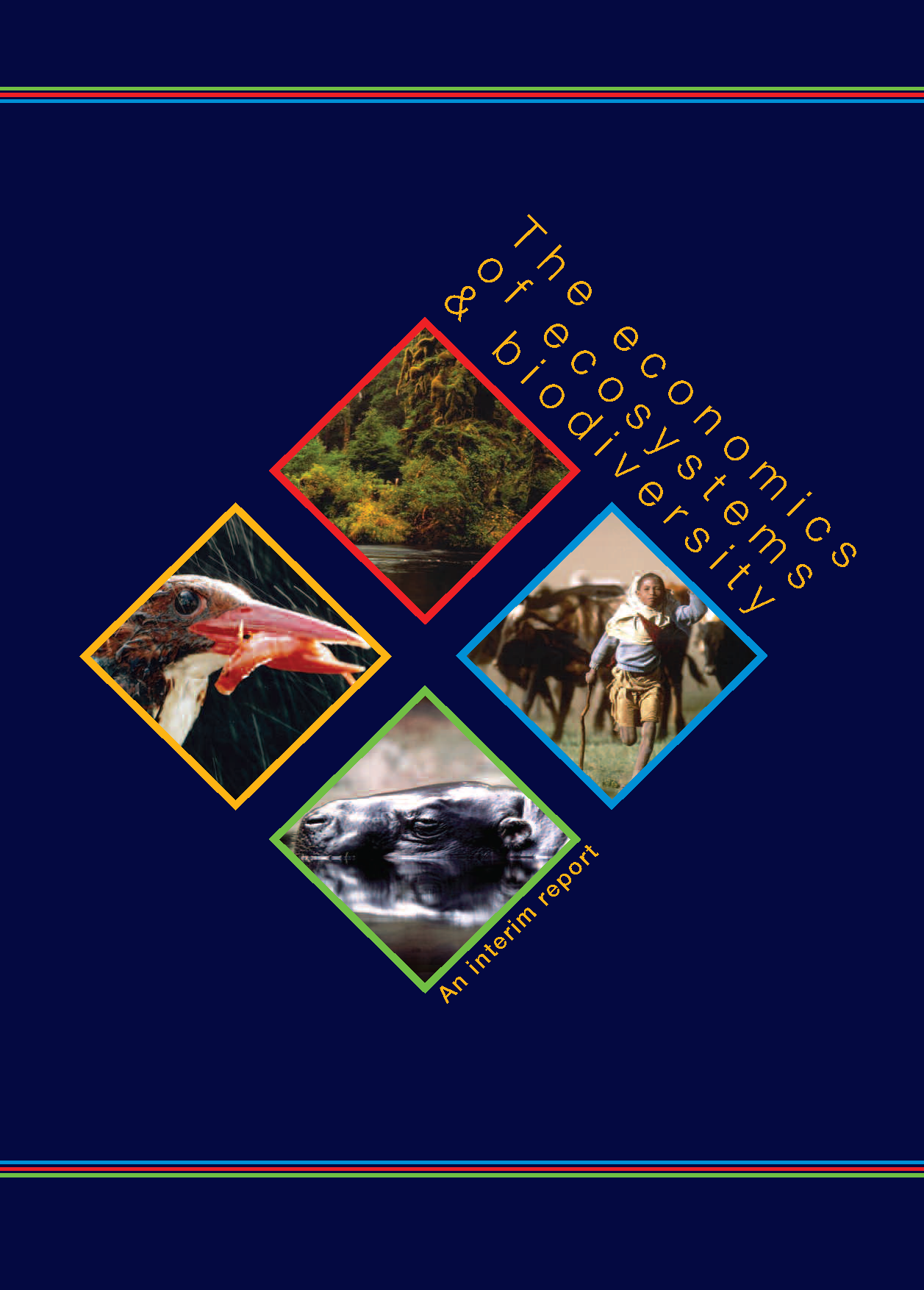 Capa da The economics of ecosystems  and biodiversity