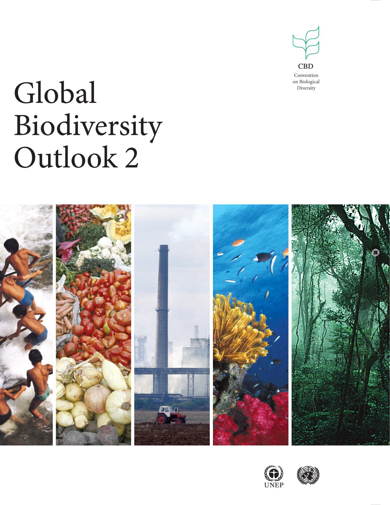 Capa da Global Biodiversity Outlook 2