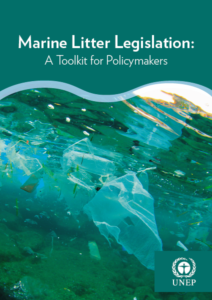 Capa da Marine Litter Legislation: A Toolkit for Policymakers