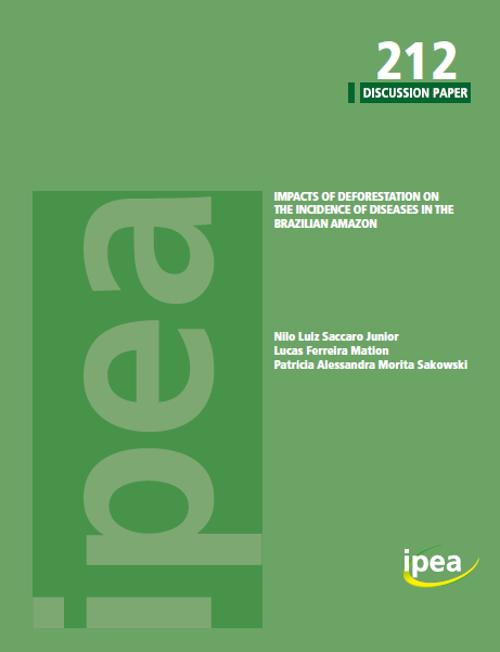 Capa da Impacts of deforestation on the incidence of diseases in the Brazilian Amazon