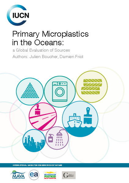 Capa da Primary microplastics in the oceans: a global evaluation of sources