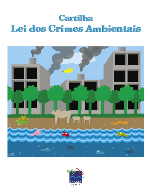 Capa da Cartilha - Lei dos crimes ambientais