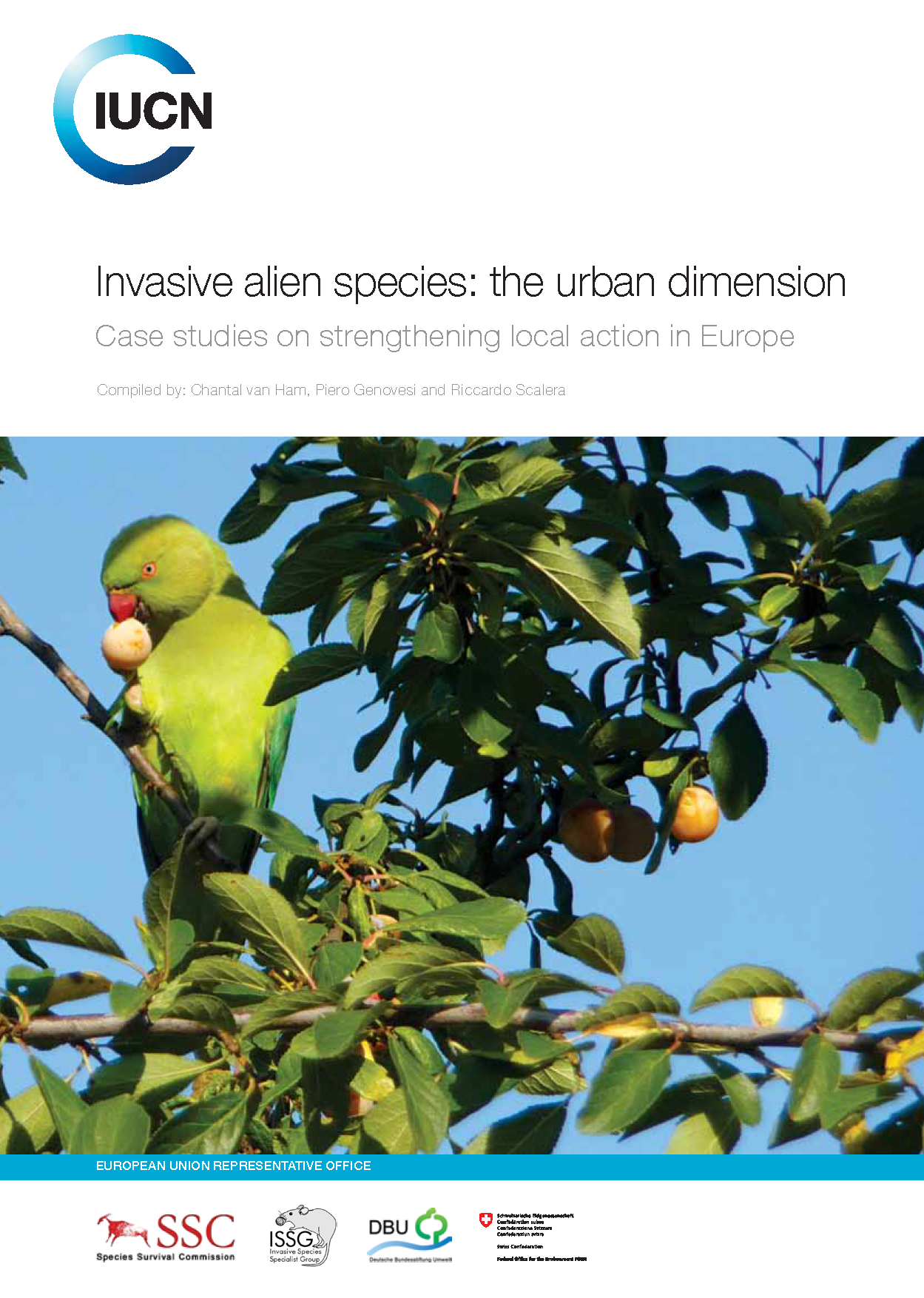 Capa da Invasive alien species: the urban dimension,