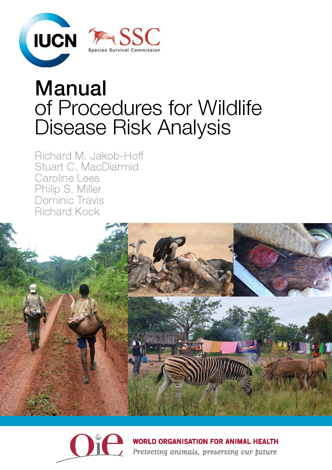 Capa da Manual of Procedures for Wildlife Disease Risk Analysis