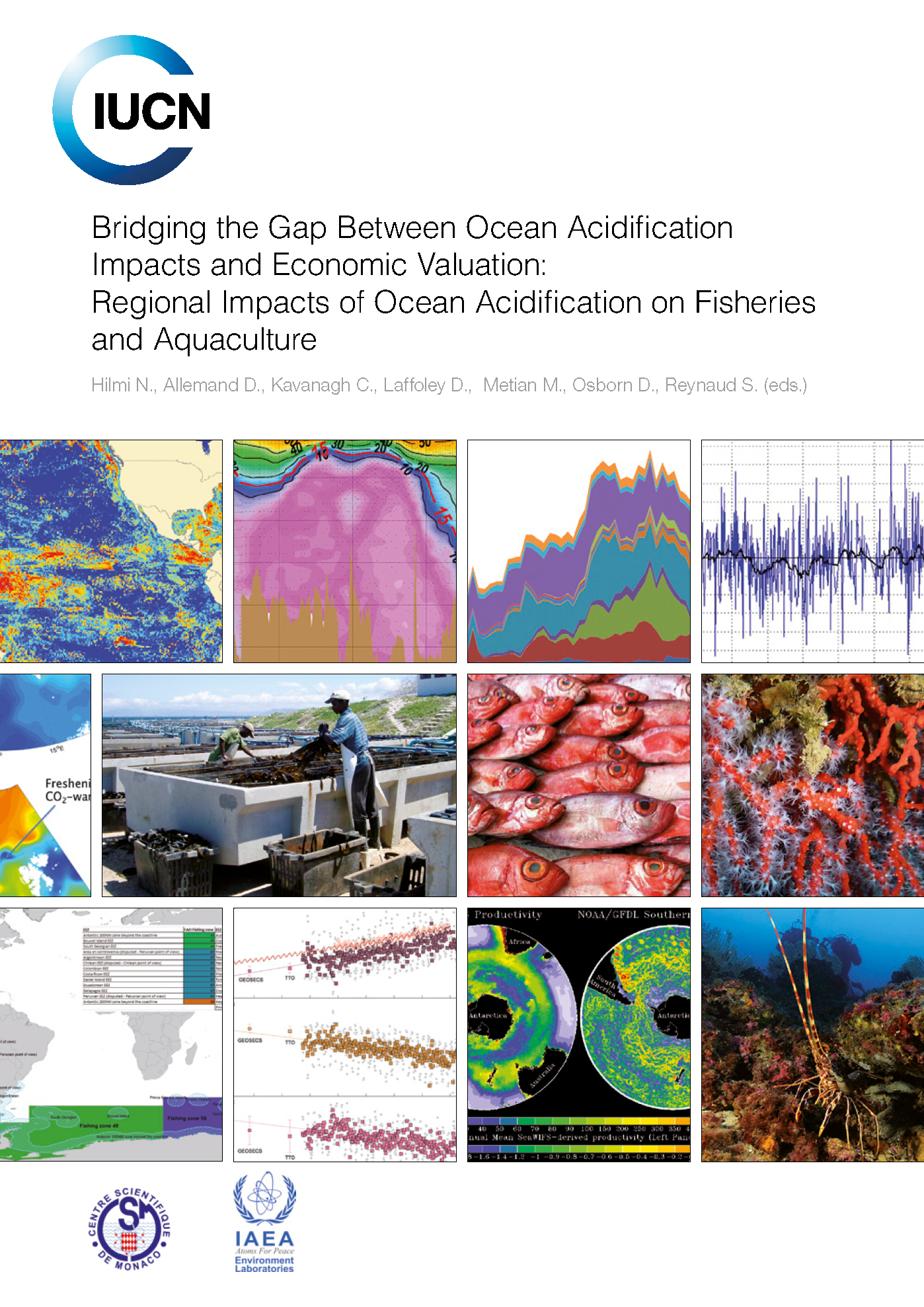Capa da Bridging the Gap Between Ocean Acidification Impacts and Economic Valuation: Regional Impacts of Ocean Acidification on Fisheries and Aquaculture