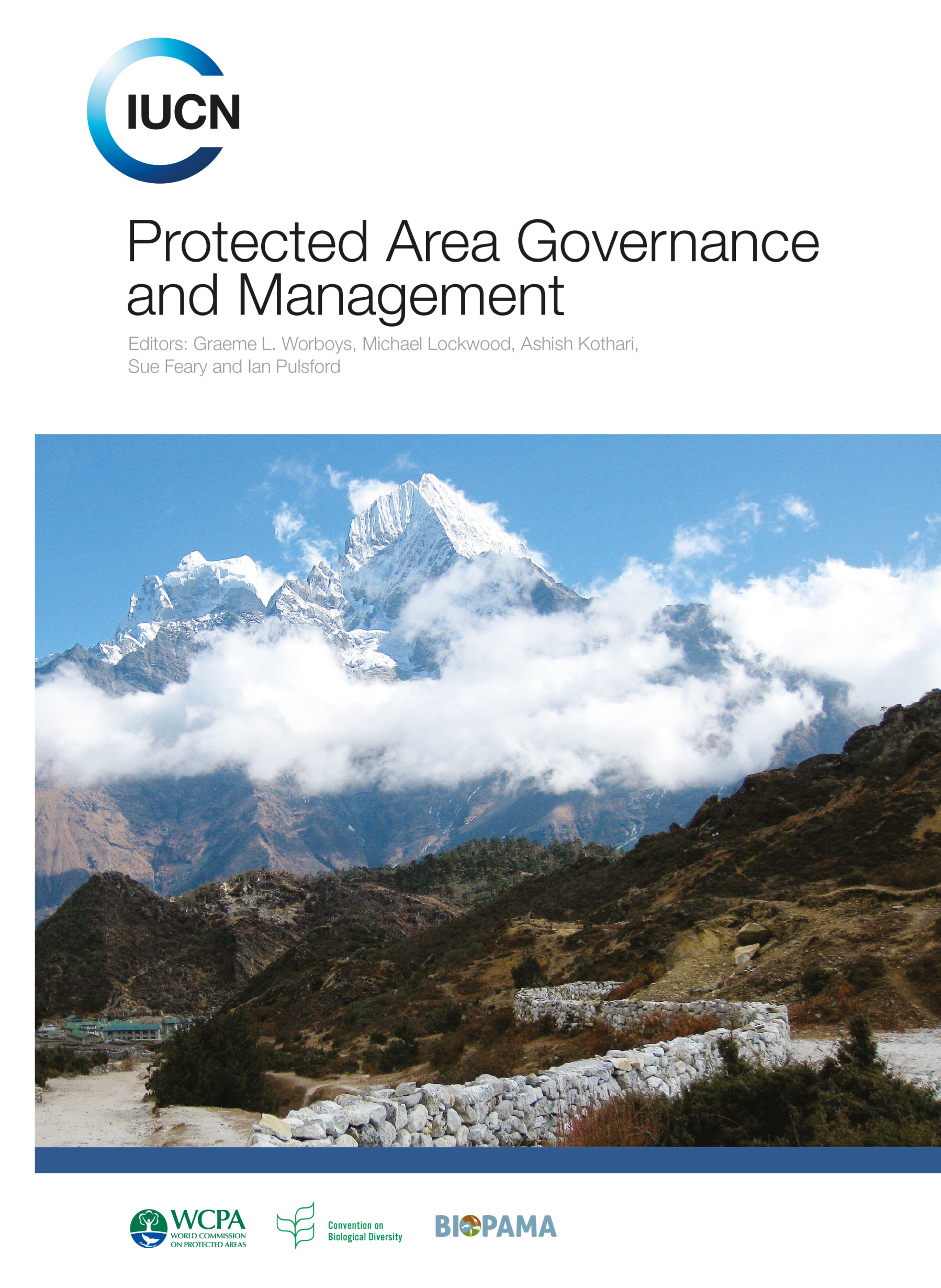 Capa da Protected Area Governance and Management