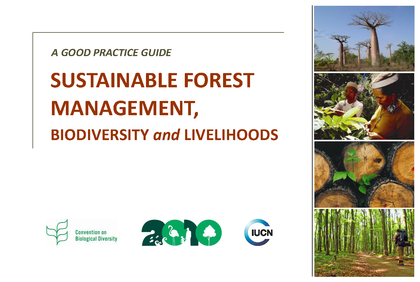 Capa da Sustainable Forest Management, Biodiversity and Livelihoods: A Good Practice Guide