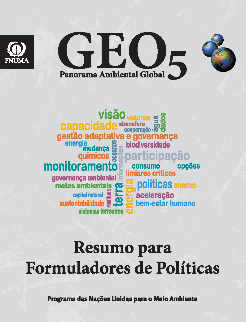 Capa da GEO-5- Panorama ambiental global